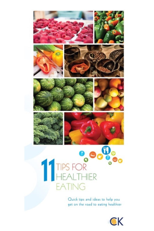 11 Tips For Healither Eating