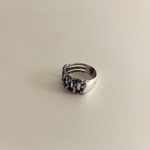 Rope Ring Sterling Silver