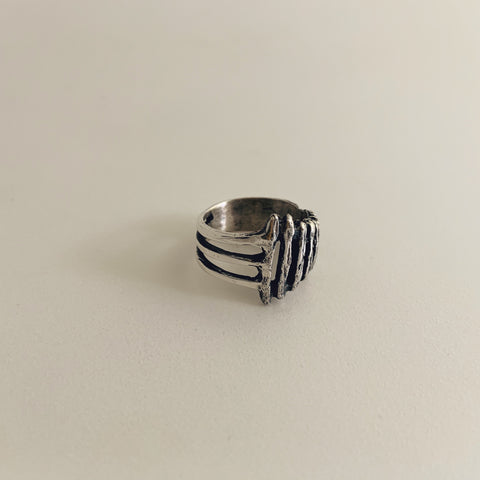 Ladder Ring Sterling Silver