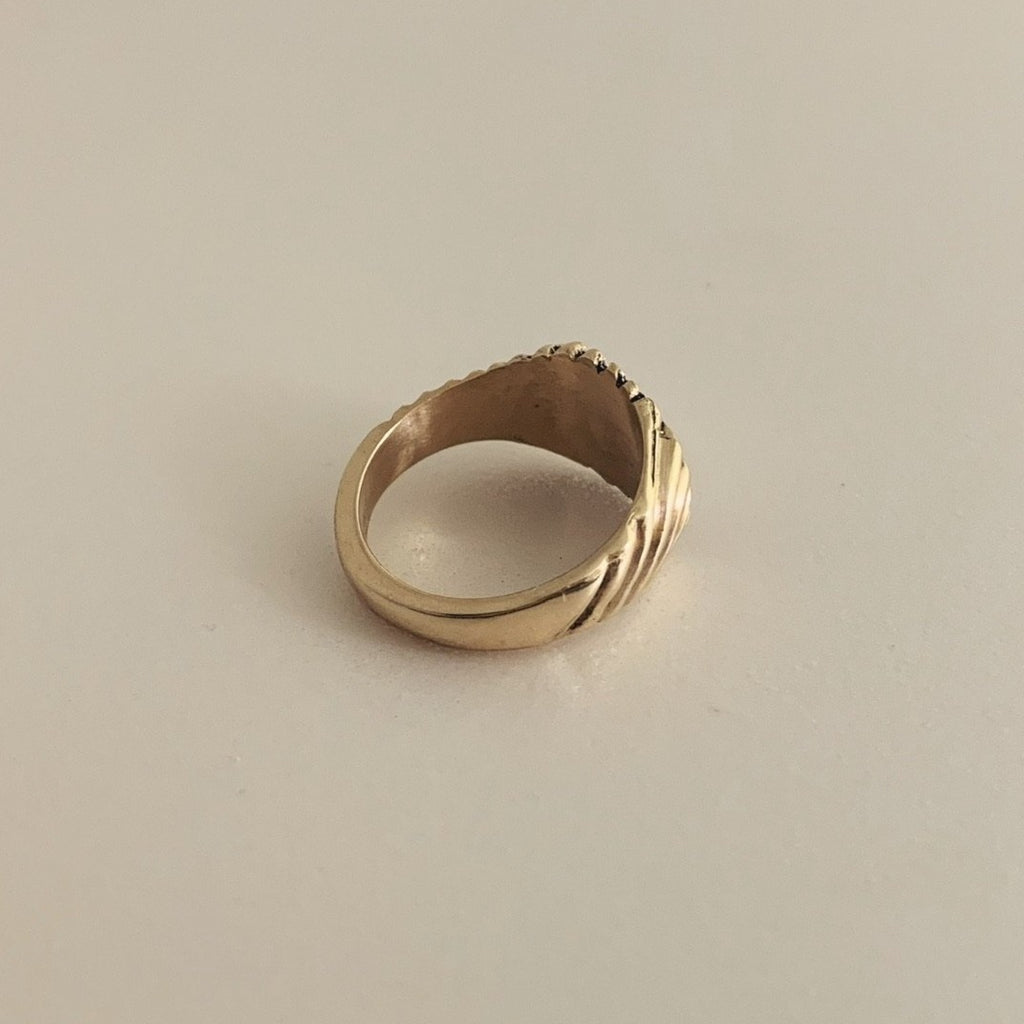 Gold Keepsake Ring