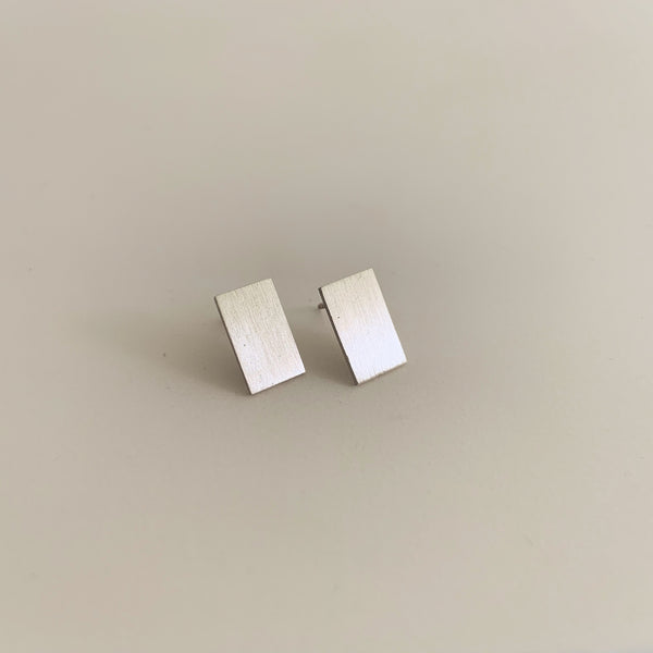 Matte Shield Earring