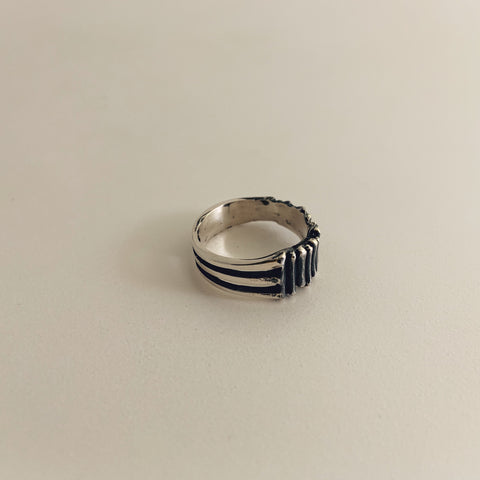 Fry Ring Sterling Silver