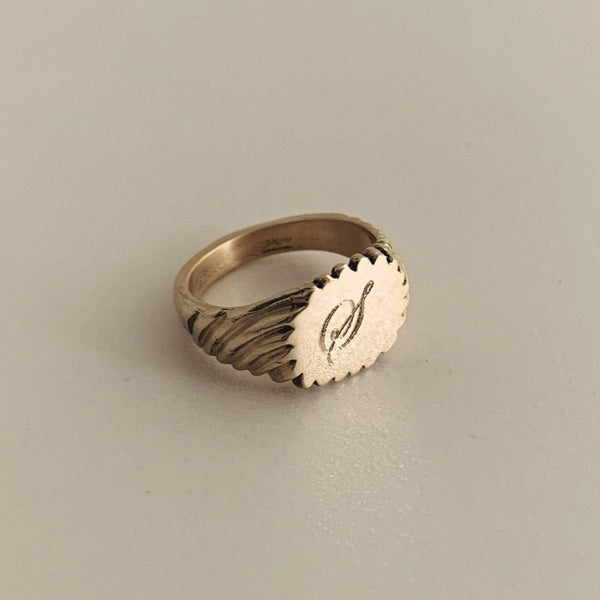 Baby Engraved Keepsake Ring