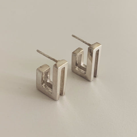 Double J Earring