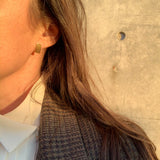 Erin Keary with the Row earring 14k vermeil gold