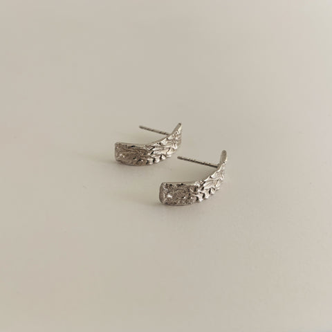 Slim Ripple Earring