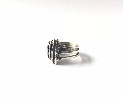 Erin Keary Sterling Silver Ladder Ring