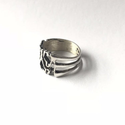 Erin Keary Sterling Silver Melt Ring