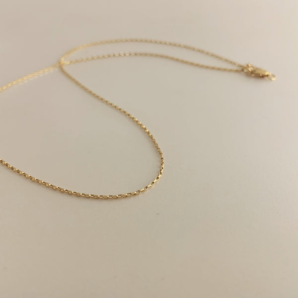 Erin Keary Gold Box Chain