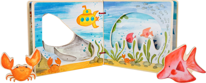 "Libro interactivo ""El mundo submarino"" de Small Foot"