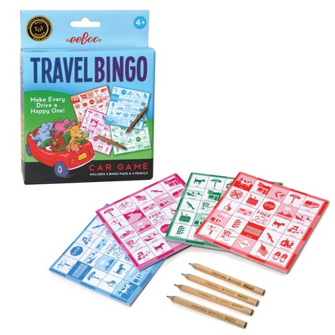 Travel Bingo de Eeboo