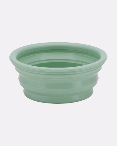 Bowl on the go – Transportabel foldeskål i naturgummi (Mint)