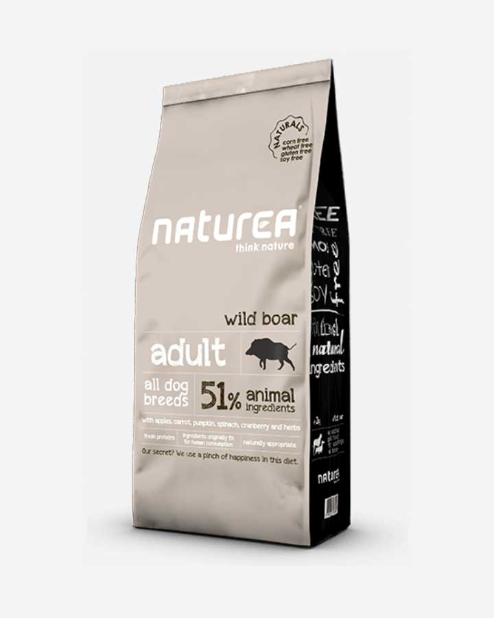 Naturea Naturals - Adult All Breed - Wild Boar, 2 kg