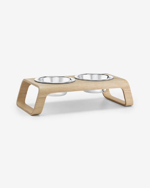 DESCO - Ash Wood Natural - DogFeeder fra MiaCara - Natur/Eg