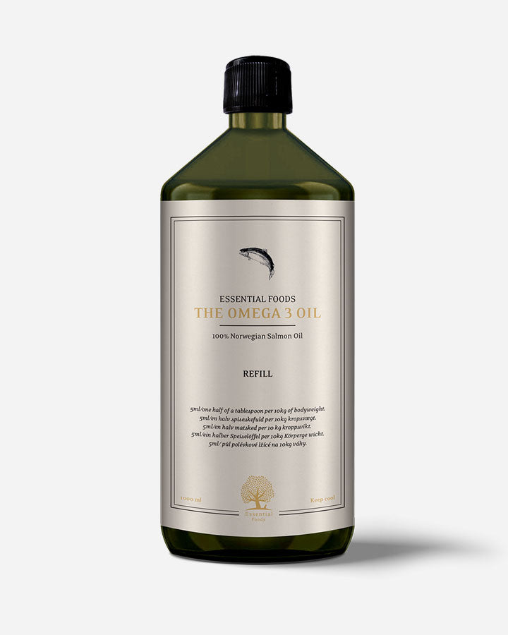 Essential lakseolie - The Omega3 Oil (1,0 L)