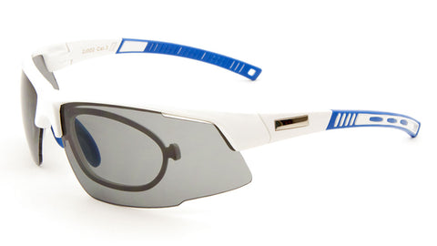 Sports Semi-Rimless Rx Wholesale Bulk Sunglasses