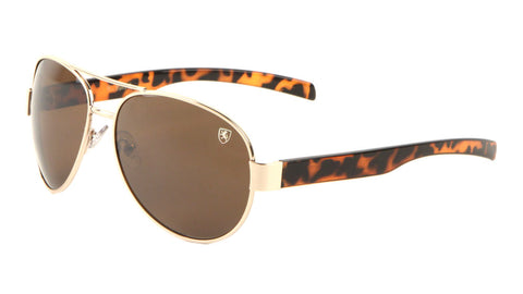 8KN-2001 - KHAN Aviators Wholesale Sunglasses