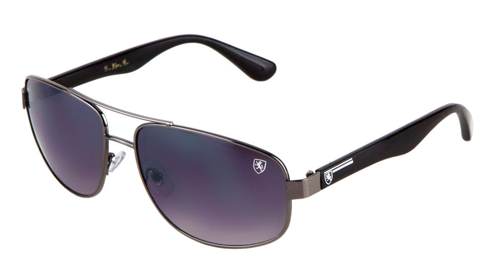 KHAN Squared Aviators Wholesale Sunglasses