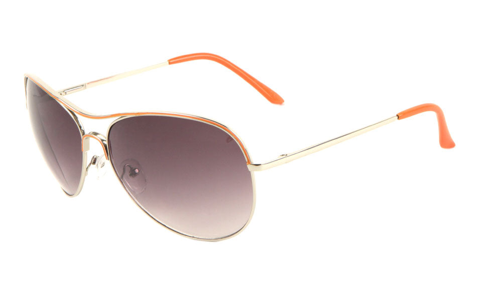 AV-1085 - Fashion Aviators Wholesale Bulk Sunglasses