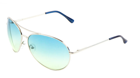 AV-1119-OC - Oceanic Color Lens Aviators Wholesale Bulk Sunglasses