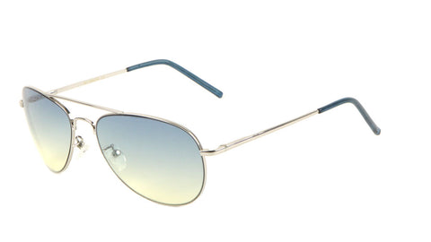 AV-1120-OC - Oceanic Color Aviators Wholesale Bulk Sunglasses