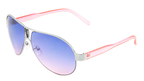 AV-1303-OC - Oceanic Color Lens Aviators Wholesale Bulk Sunglasses