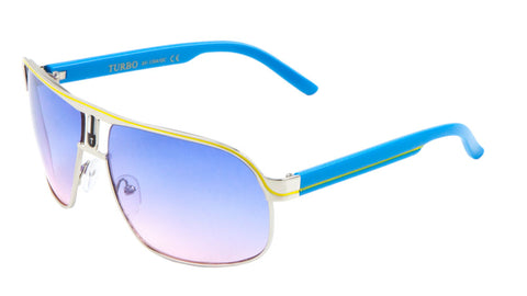 AV-1304-OC - Oceanic Color Aviators Wholesale Bulk Sunglasses