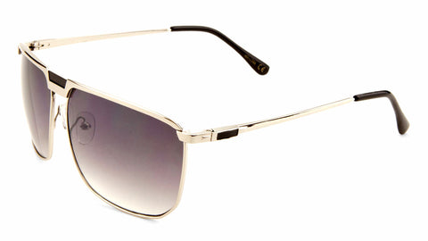 Spring Hinge Bridgeless Aviators Wholesale Bulk Sunglasses
