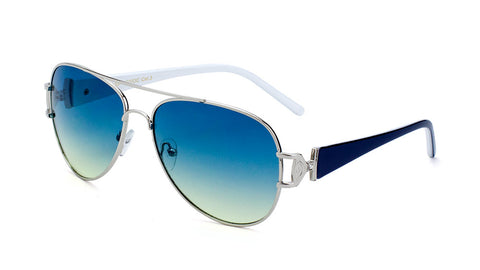 AV-1407-OC - Oceanic Color Aviators Wholesale Bulk Sunglasses