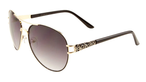 AV-1420 - Aviators Fashion Wholesale Sunglasses