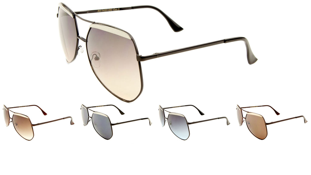 Brow Oceanic Color Aviators Wholesale Bulk Sunglasses