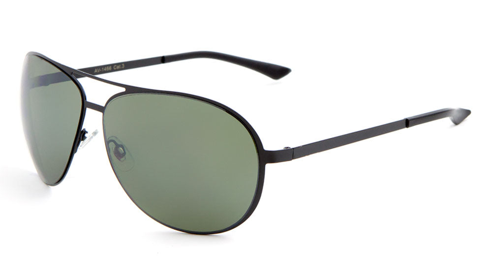 AV-1466 - Rounded Aviators Wholesale Bulk Sunglasses