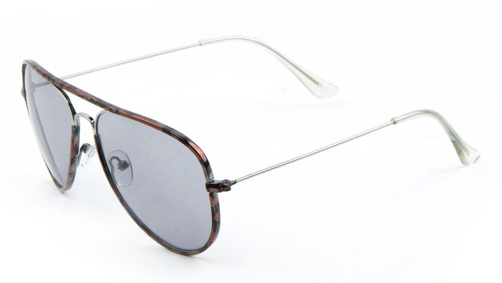 Tortoise Frame Aviators Wholesale Sunglasses