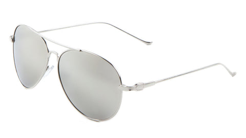 AV-1473-CM - Color Mirror Aviators Wholesale Bulk Sunglasses