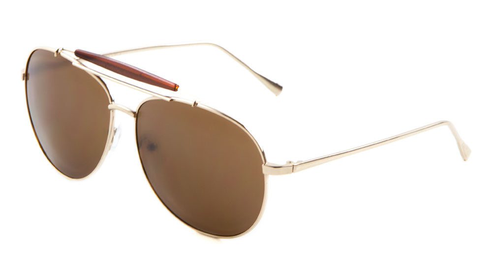 Top Bar Aviators Wholesale Bulk Sunglasses
