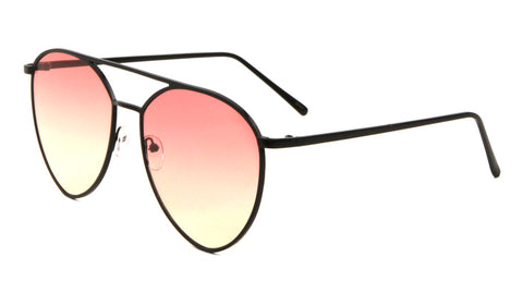 AV-1556-OC - Diamond Oceanic Color Aviators Wholesale Bulk Sunglasses