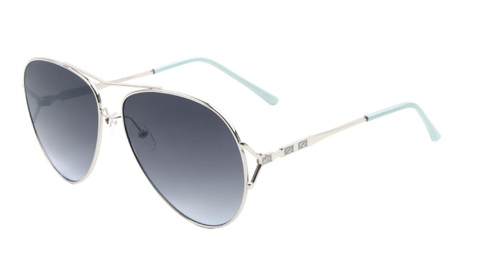 AV-1576-OC - Aviators Oceanic Color Lens Fashion Wholesale Sunglasses