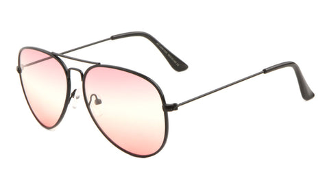 AV-1600-TOC - Triple Oceanic Color Lens Aviators Wholesale Sunglasses