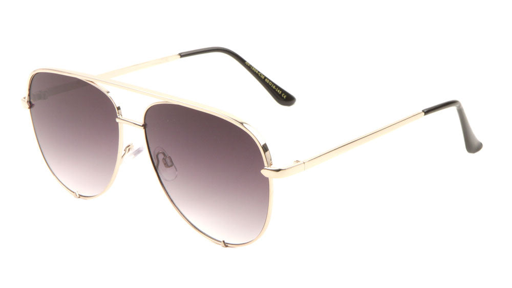 Aviators Color Mirror Fashion Sunglasses Wholesale