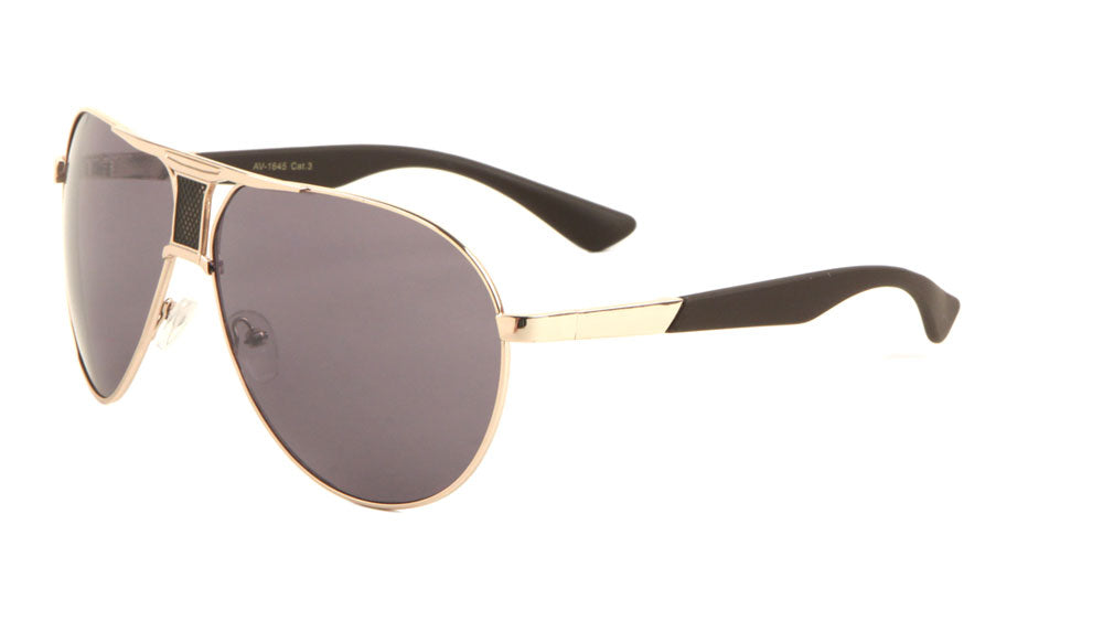 Accent Brow Aviators Sunglasses Wholesale
