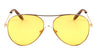 Color Lens Aviators Sunglasses Wholesale