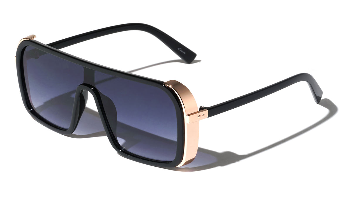 Side Shield One Piece Wholesale Sunglasses