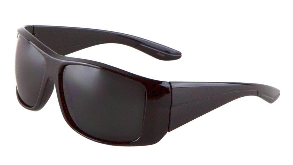 Black Sport Wholesale Bulk Sunglasses