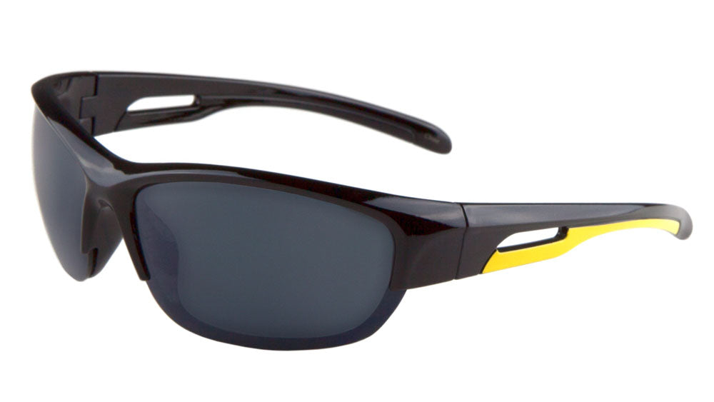 BP0075 - Sport Semi-Rimless Wholesale Bulk Sunglasses