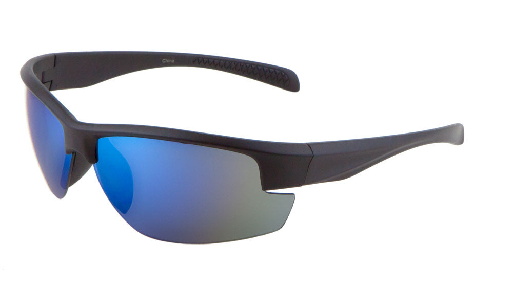 Wholesale Rimless Sports Color Mirrror Sunglasses