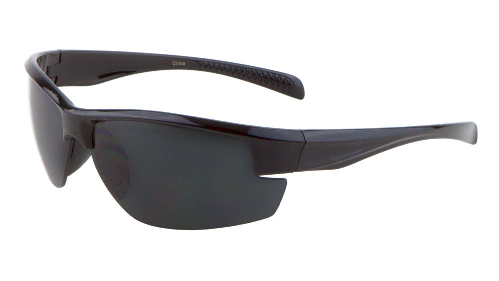 Sport Semi-Rimless Wholesale Bulk Sunglasses