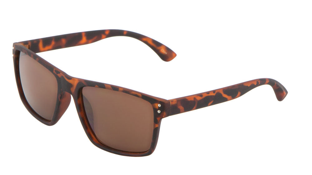 Wholesale Classic Frame Soft Coat Sunglasses