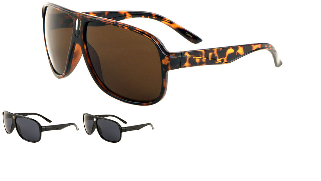 Full Plate Aviators Sunglasses Wholesale