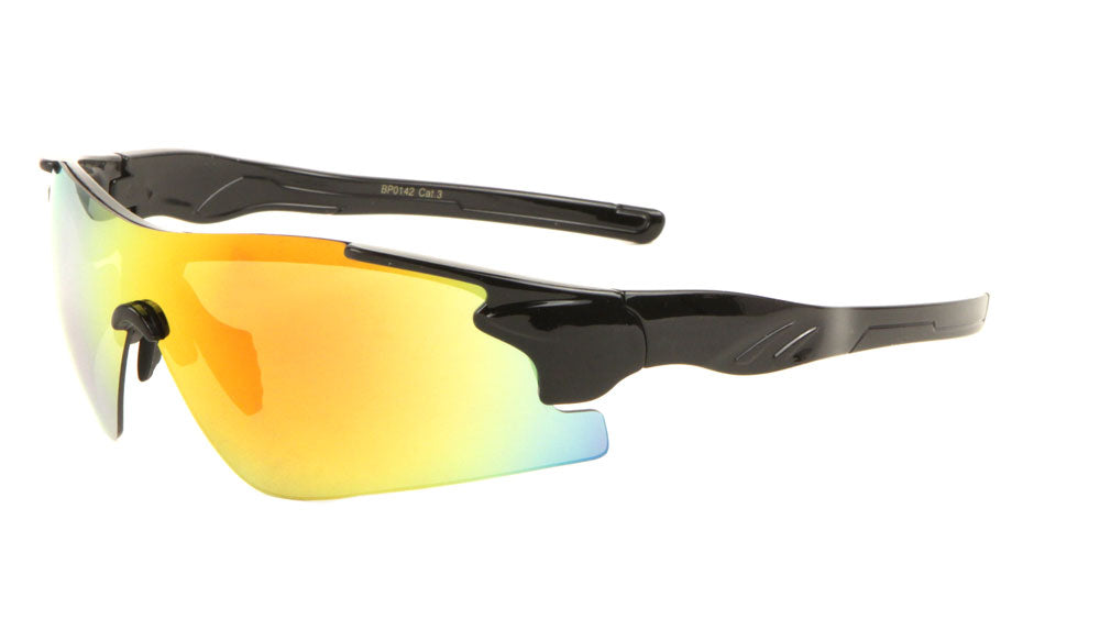 Sports Semi-Rimless Sunglasses Wholesale