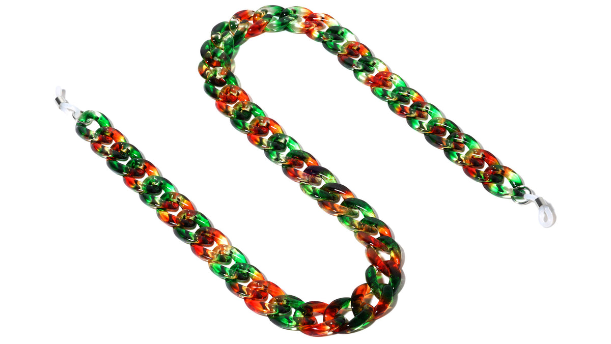 Tie Dye Thick Chain Wholesale Accessories